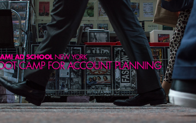 Start Your Planning Career: Miami Ad School's Boot Camp for Account Planning Starts July 5th in New York