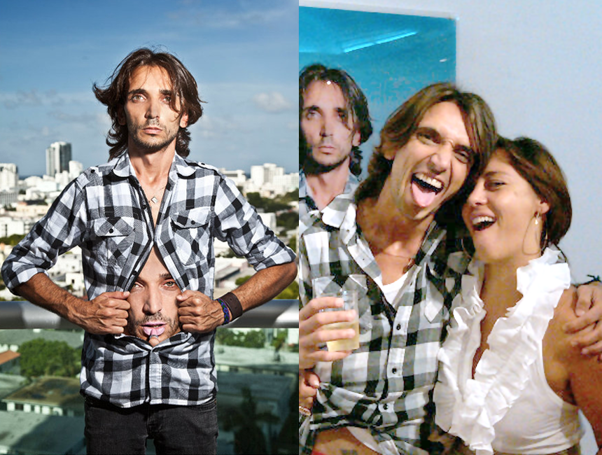 Leonardo D'Angelis, Stylist and Photographer; Crazy Bitch With a Big Heart | Silvia and Leonardo
