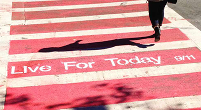 Remember Yesterday, Live for Today: Miami Ad School Students Commemorate 9/11