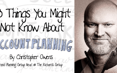 18 Things You Might Not Know About Account Planning