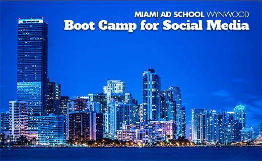 Miami Ad School Wynwood Boot Camp for Social Media