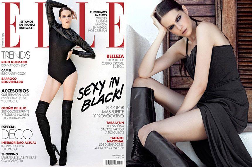 Ken's Cancun Elle Mexico Cover + Editorial Shoot