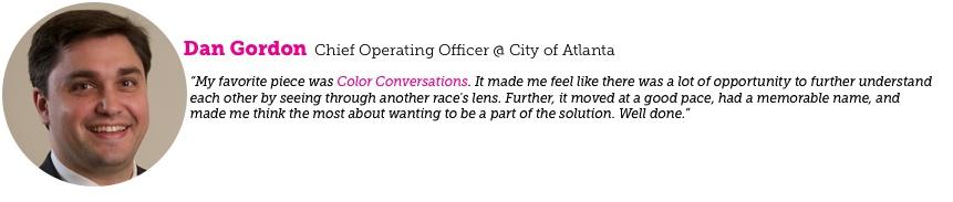 Dan Gordon Chief Operating Officer City of Atlanta