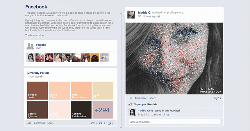 I'm Human Facebook