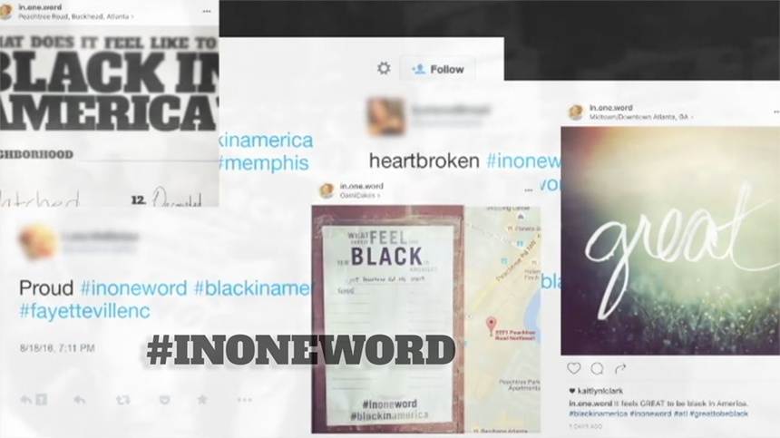 The Truth About Race in America, In One Word Collage