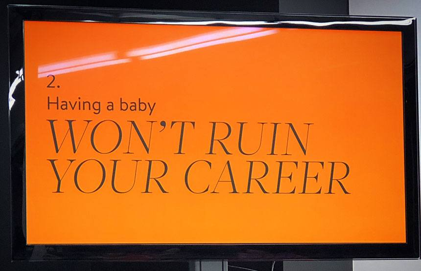 Having A Baby Won't Ruin Your Career
