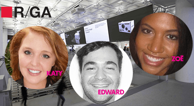 R/GA's Connected Office An Ideal Home for Alumni Trio