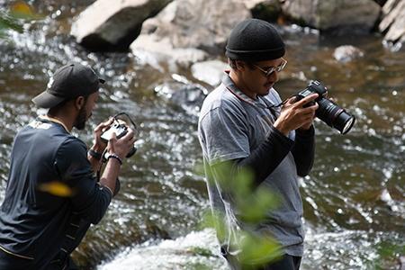 student photographers