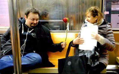 Love on the Subway?