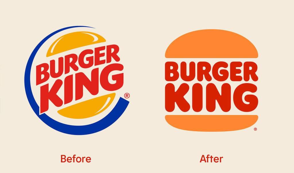 Burger King Rebrand New Logo